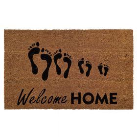 Kokosmat 'Welcome Home' - 50x80 cm