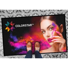 full color bedrukte deurmat 200x200 cm
