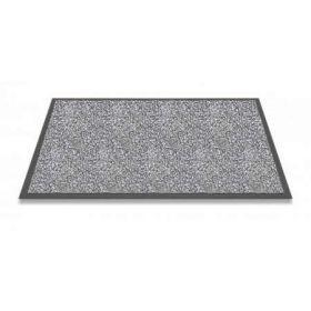 grijze wasbare mat