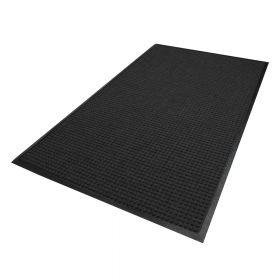 Waterhog Classic droogloopmat / schoonloopmat 180x250 cm - Rubber border - Antraciet