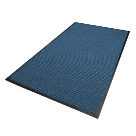 Waterhog Classic droogloopmat / schoonloopmat 180x250 cm - Rubber border - Blauw