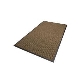 Waterhog Classic droogloopmat / schoonloopmat 90x150 cm - Rubber border - Camel